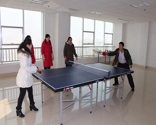 员工活动室乒乓球